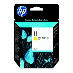 HP Yellow #11 Ink Cartridge 1,750 Yield (C4838AN)