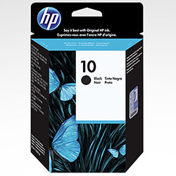 HP 2000/2500 Black #10 Ink Jet Cart. (C4844A)