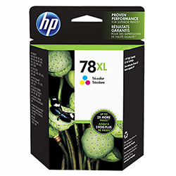 HP No. 78 Tri-Color Ink Cartridge 970 Yield (C6578AN)