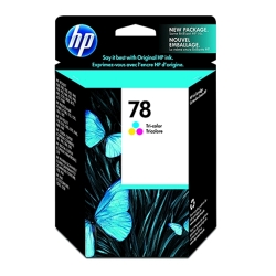 HP No. 78 Tri-Color Ink Cartridge 450 Yield( C6578DN)
