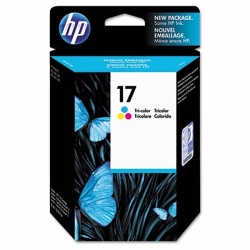 HP Tri-Color #17 IJ Print Cartridge 430 Yield(C6625AN)