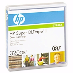 HP Super DLTtapeTM 160GB/320GB (C7980A)