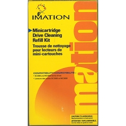 Imation Minicartridge Drive Cleaning Refill Kit (12948)