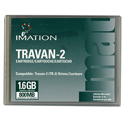 45574 >> Imation Travan Tr 2 Data Cartridge 800mb 45574 Disk O Tape Inc