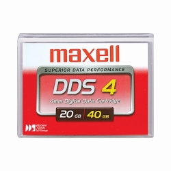 Maxell HS-4/150s 4mm 150M DDS-4 Tape 20.0GB (200028)