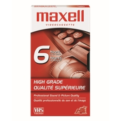 Maxell High Grade T-120 VHS Tape (224915)