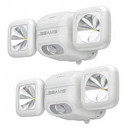 Mr Beams Net. High Perf. Security Light, 500 lm, WH (MBN3000W)