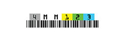 4mm Media Barcode Labels