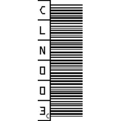 DLT Cleaning Cartridge Barcode Labels