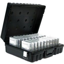Turtle Case for LTO Ultrium Holds 20, Black (LTO20)
