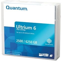 Quantum LTO 6 Tape 2.5/6.25TB (BaFe) (MR-L6MQN-01)
