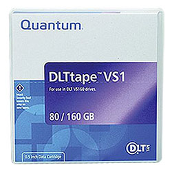Quantum DLTtape VS1 160/320GB Tape Cartridge (MR-VS1MQN-01)