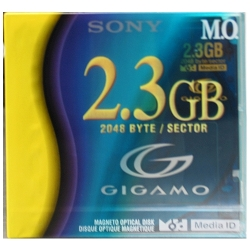 Sony 2.3GB Optical Disk 2048B/S Gigamo (EDMG23C)