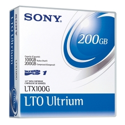 Sony LTO 1 Tape 100GB (LTX100G)