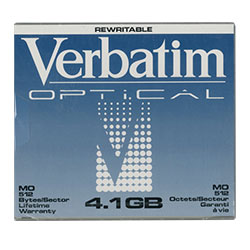 "Verbatim 5.25"" RW Optical 4.1GB 512B/S (92841)"