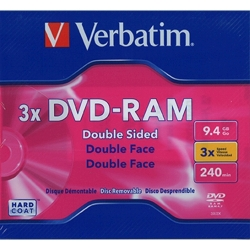 Verbatim DVD-RAM 9.4GB, 3X Type 4 Cartridge (95003)