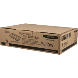 Xerox Phaser 6100 Yellow Toner Cartridge, 2K (106R00678)
