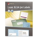 "Maco 1"" X 2 5/8"" Laser Label 3000/BX (ML-3000)"