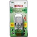 Maxell BC-100 Compact Charger for AA/AAA w/2 AA (888700)