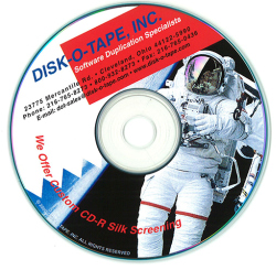 Custom Printing on CDs and DVDs