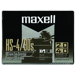 Maxell HS-4/90s 4mm 90M Data Tape 2.0GB (331910)
