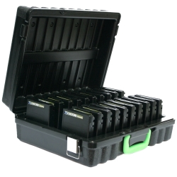 Turtle 3592 Storage Case (Holds 20) Black (3592-20)