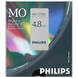 "Philips 5.25"" RW Optical 4.8GB 1024B/S (82PDO)"