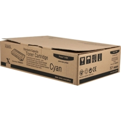 Xerox Phaser 6100 Cyan Toner Cartridge, 2K (106R00676)